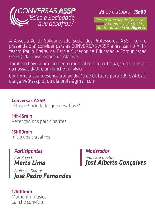 Conversas ASSP programa