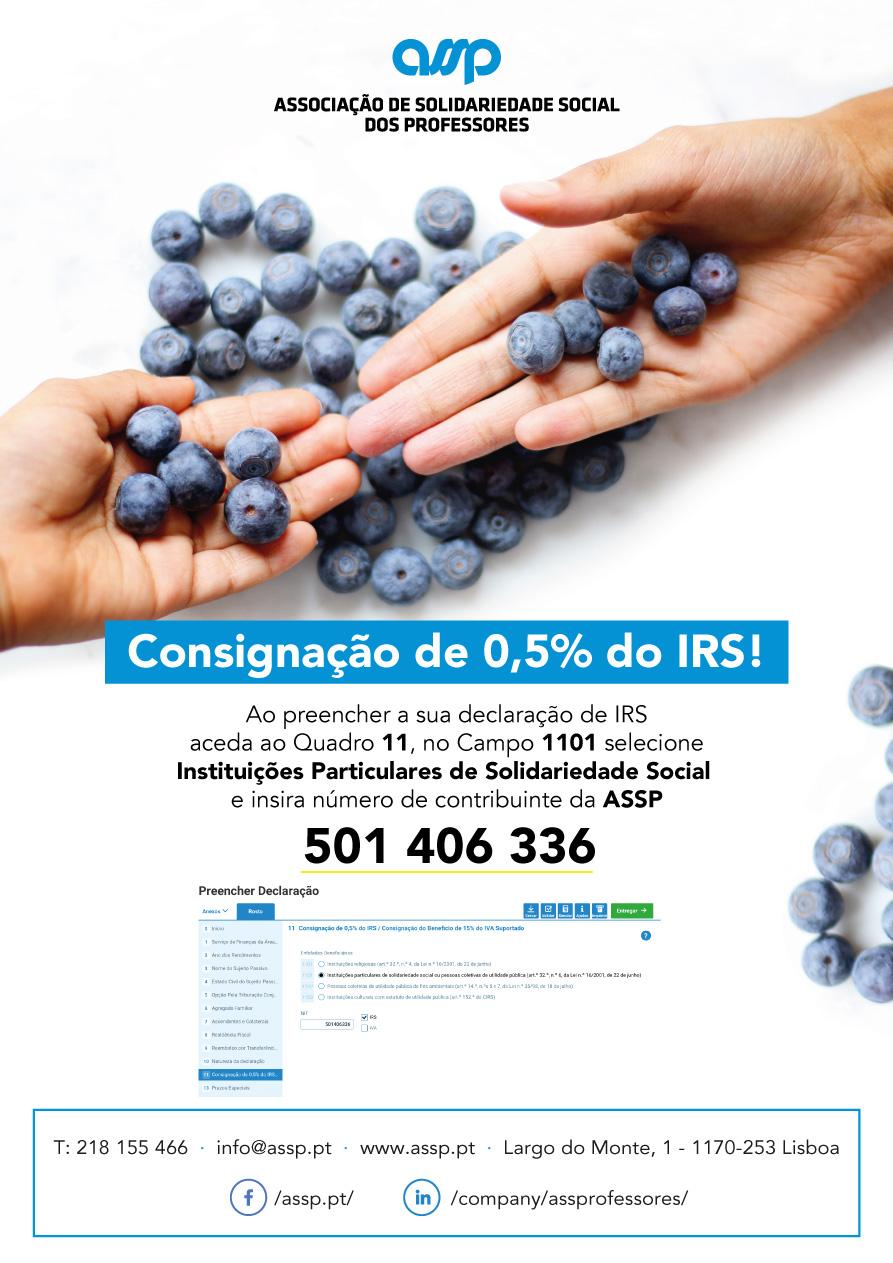 ASSP - Campanha de Consignação de IRS 2019